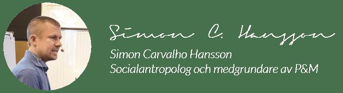 Signatur Simon C Hansson